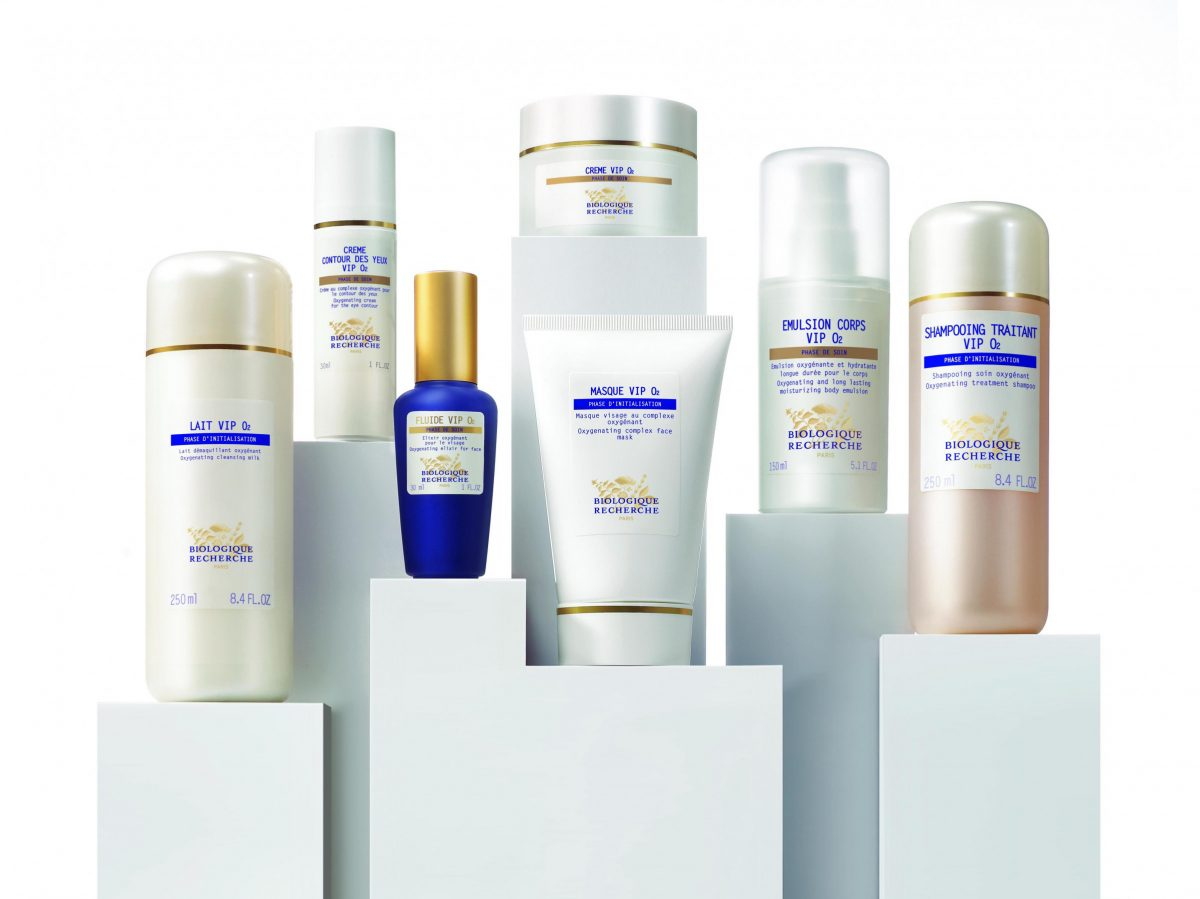 Range of beauty products