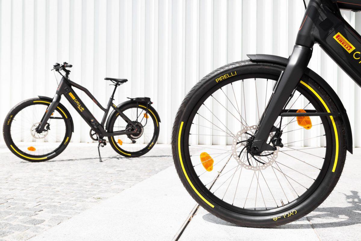 bikes in St. Moritz