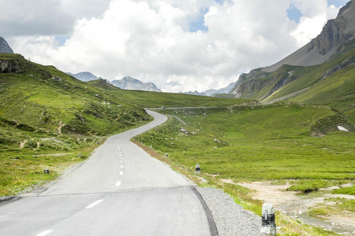 Road in St Moritz