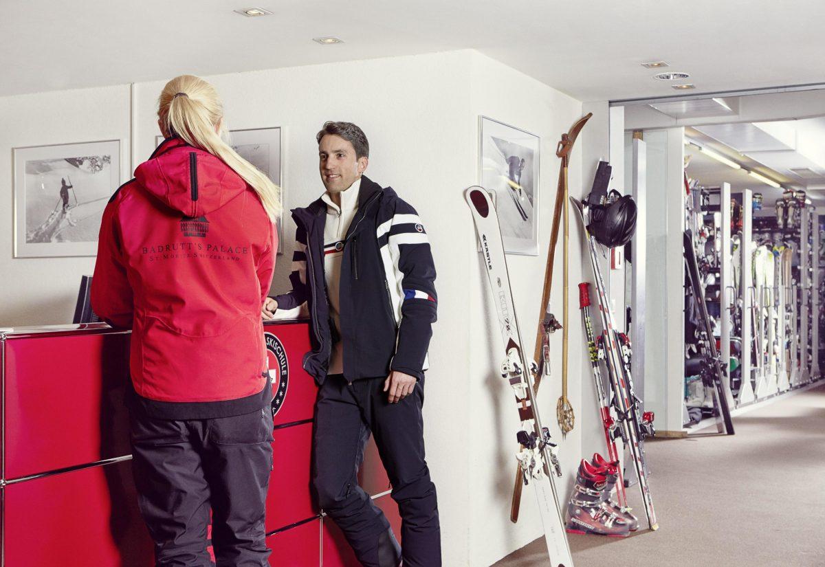 Skiing at St Moritz