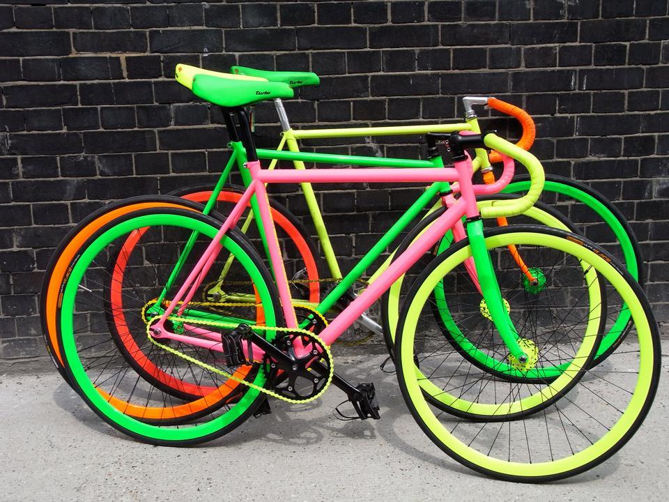 Benedict Radcliffe's Fluoro Bikes, 2008