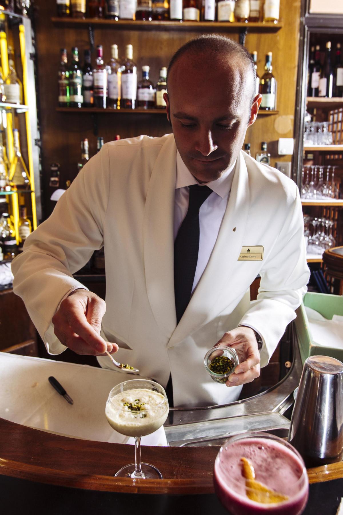 Head Barman Andrea Delvo