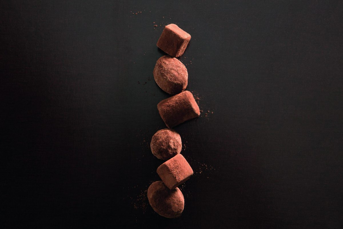 gourmet chocolate truffles