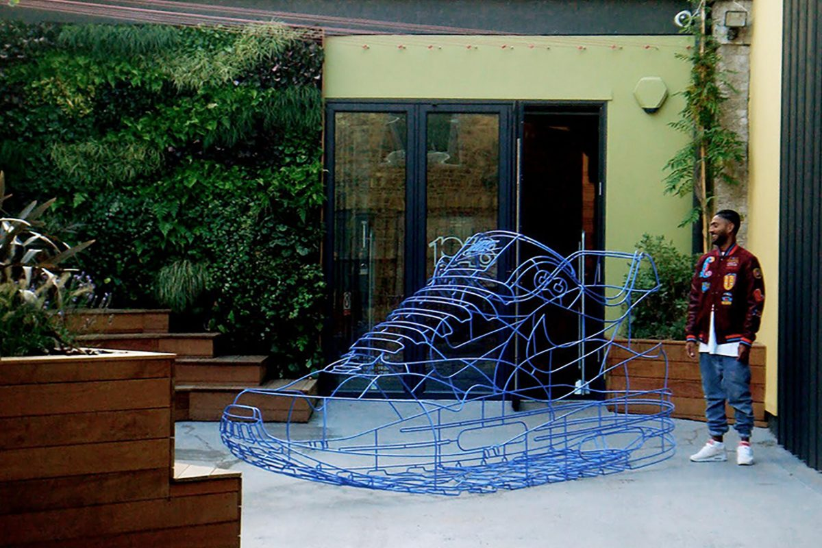 Modern sculpture Benedict Radcliffe