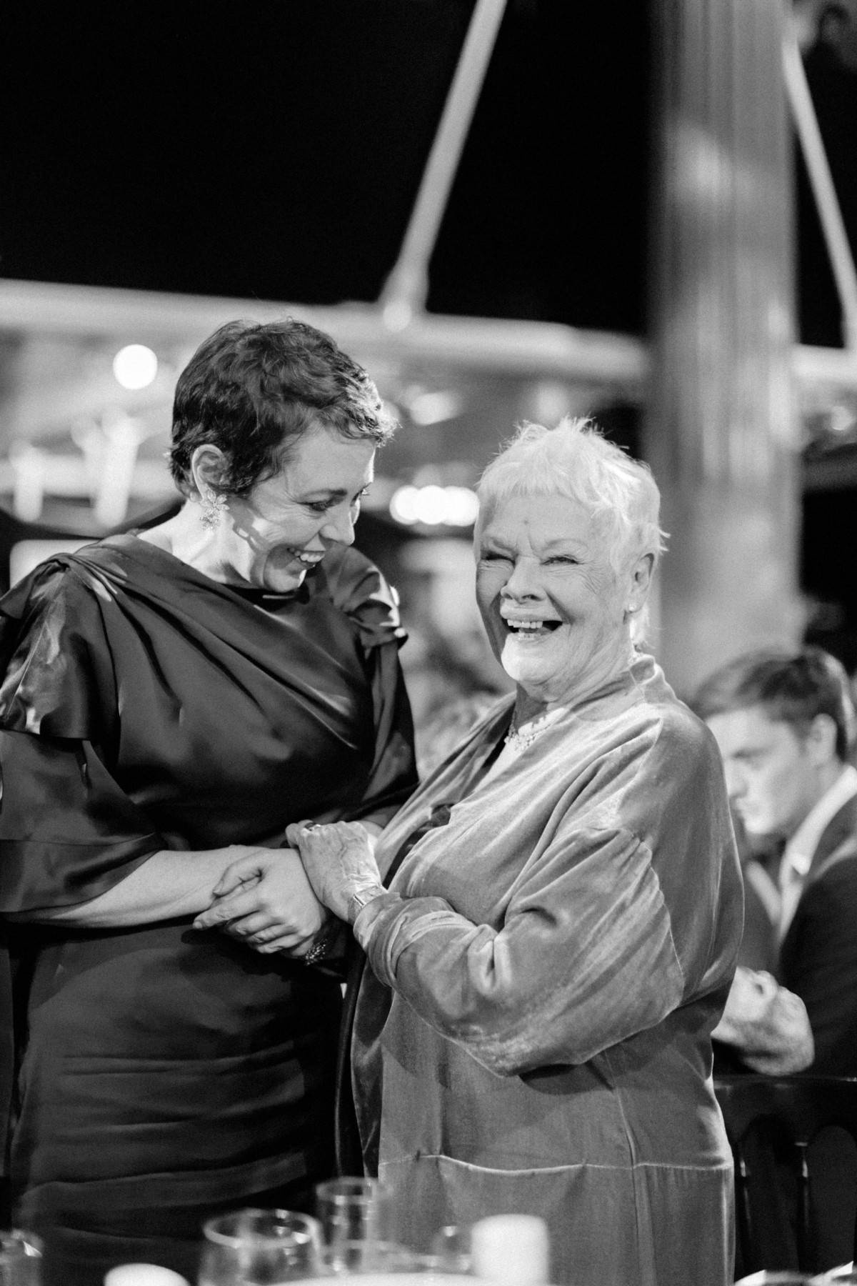 Olivia Coleman and Judi Dench