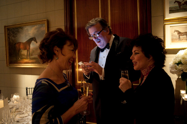 Stephen Fry, Ruby Wax and Kathy Lette