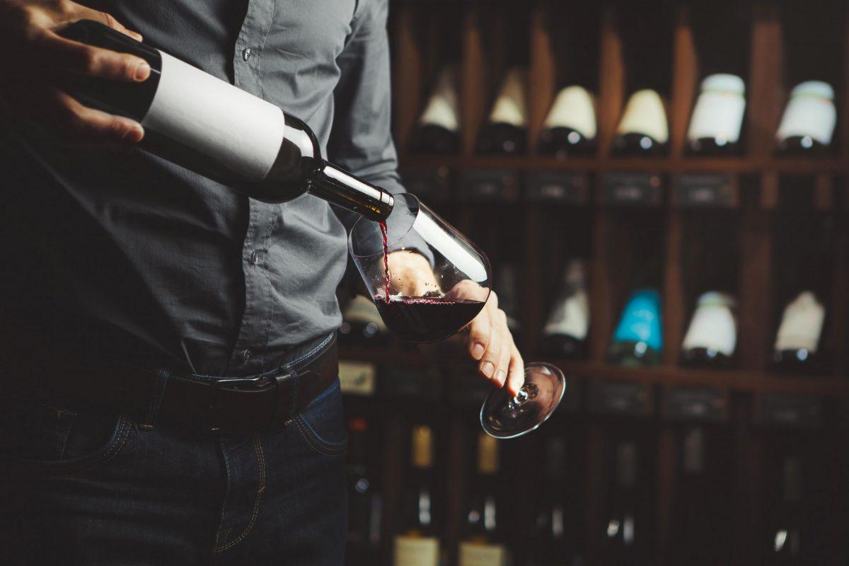 Badrutt's Palace Hotel wine cellar