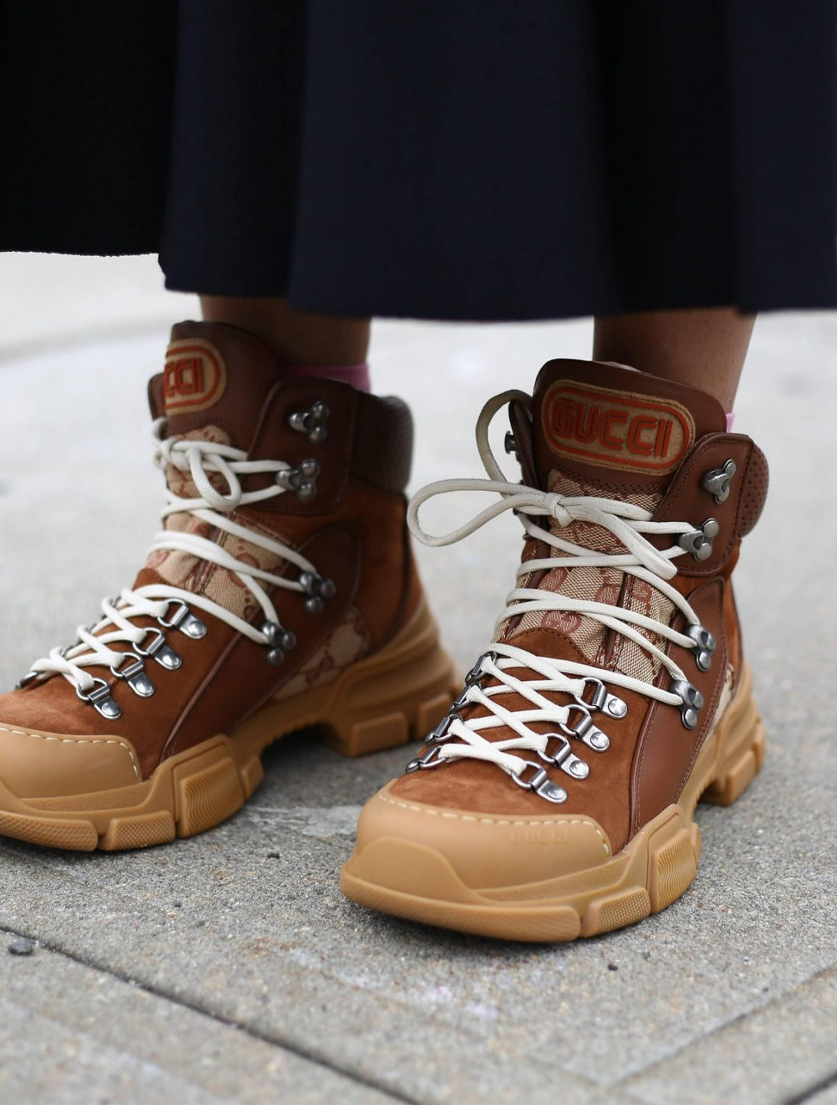 Gucci hiking boots