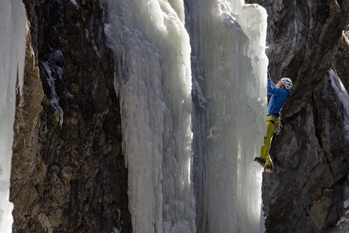 Climbing in St. Moritz
