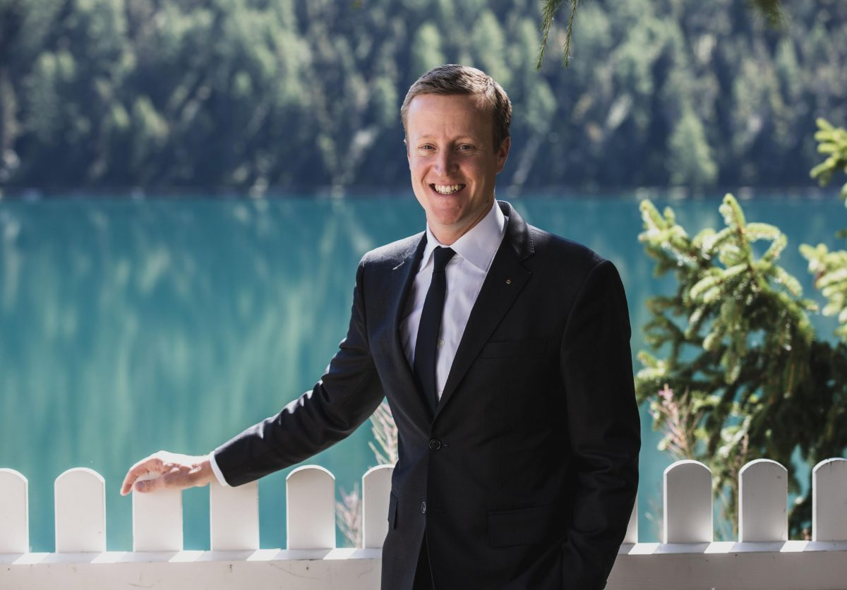 Gian Müller Director of Food & Beverage at Badrutt's Palace Hotel in St. Moritz
