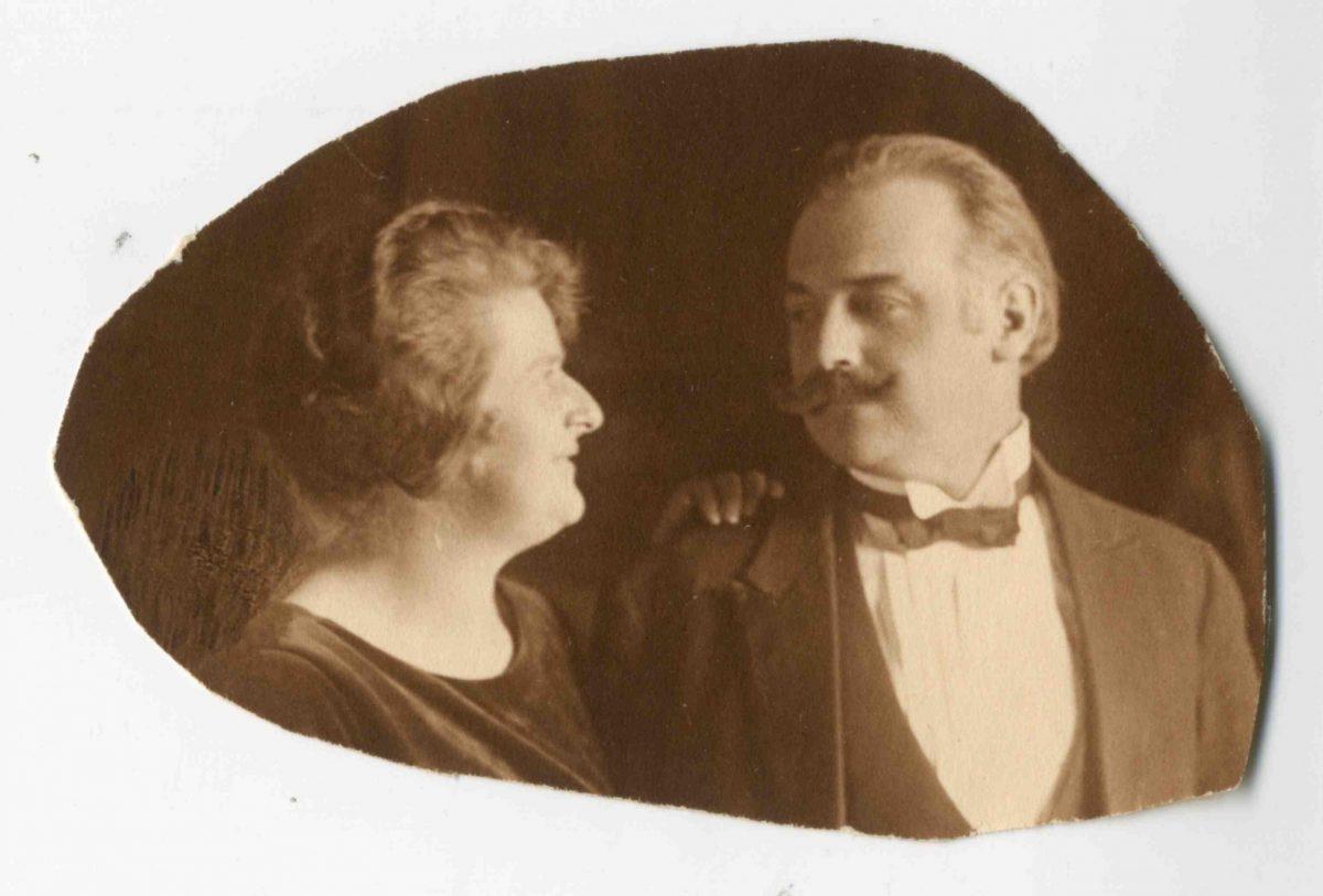 Helen and Hans Badrutt