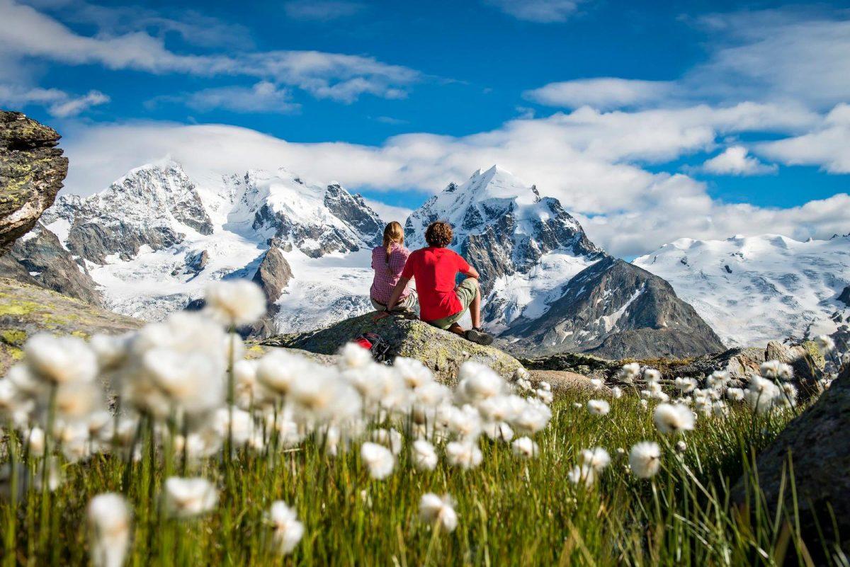 Hiking St. Moritz