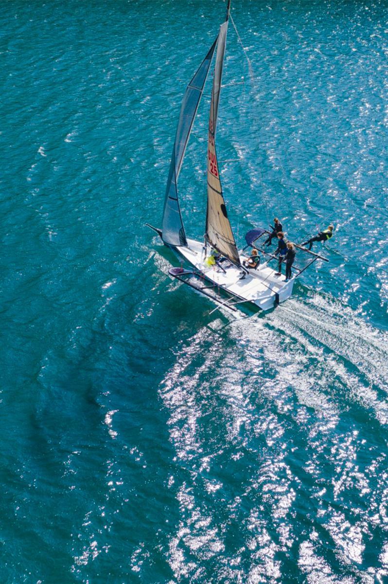 Sailing in St. Moritz