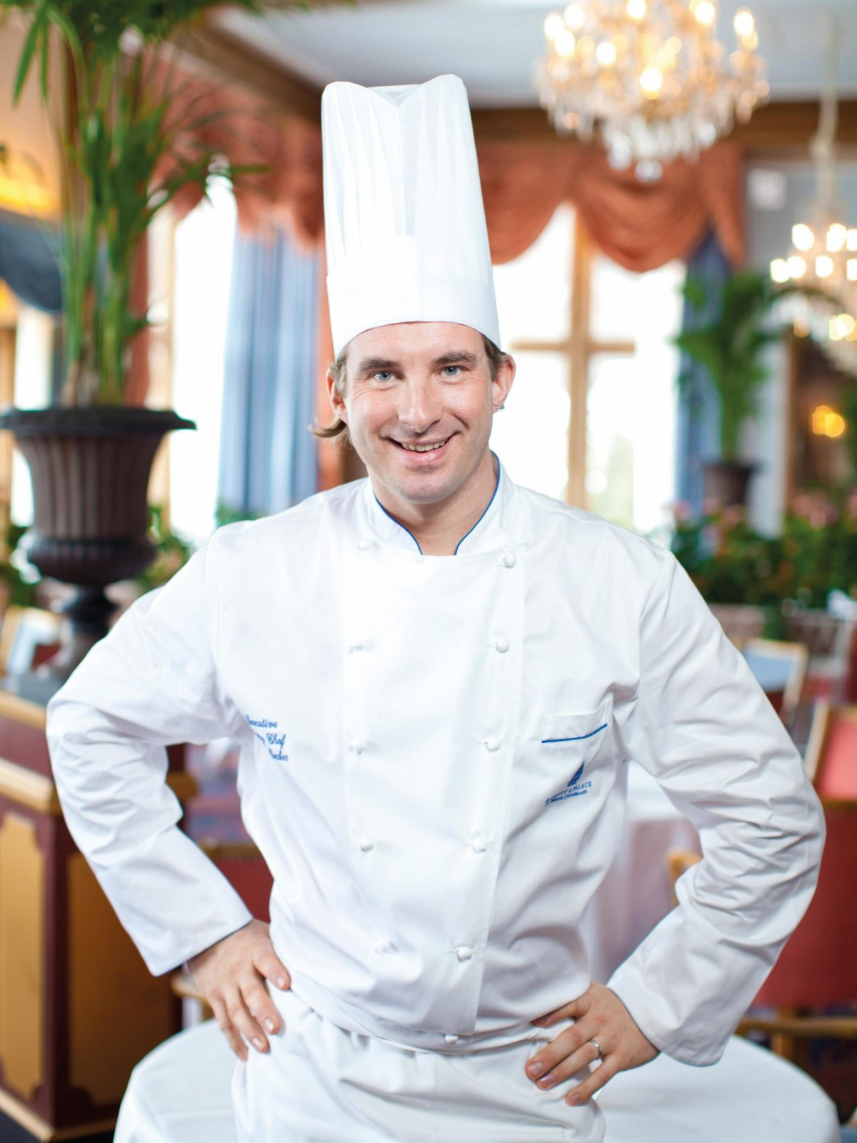 Stefan Gerber Executive Pastry Chef at Badrutt's Palace Hotel in St. Moritz