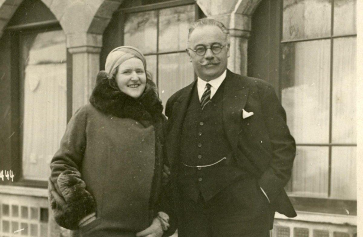 Old picture of Helen Badrutt
