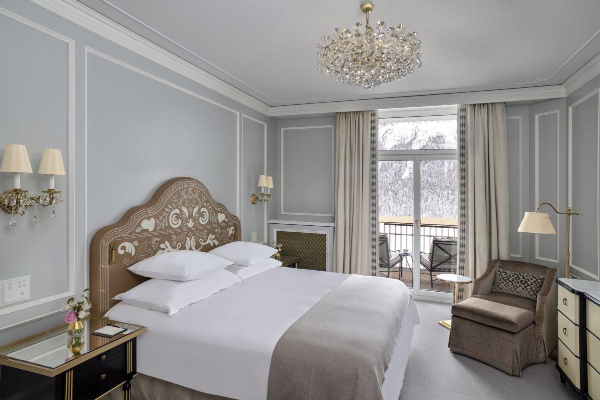 Gestalteten Suiten im Badrutt's Palace Hotel