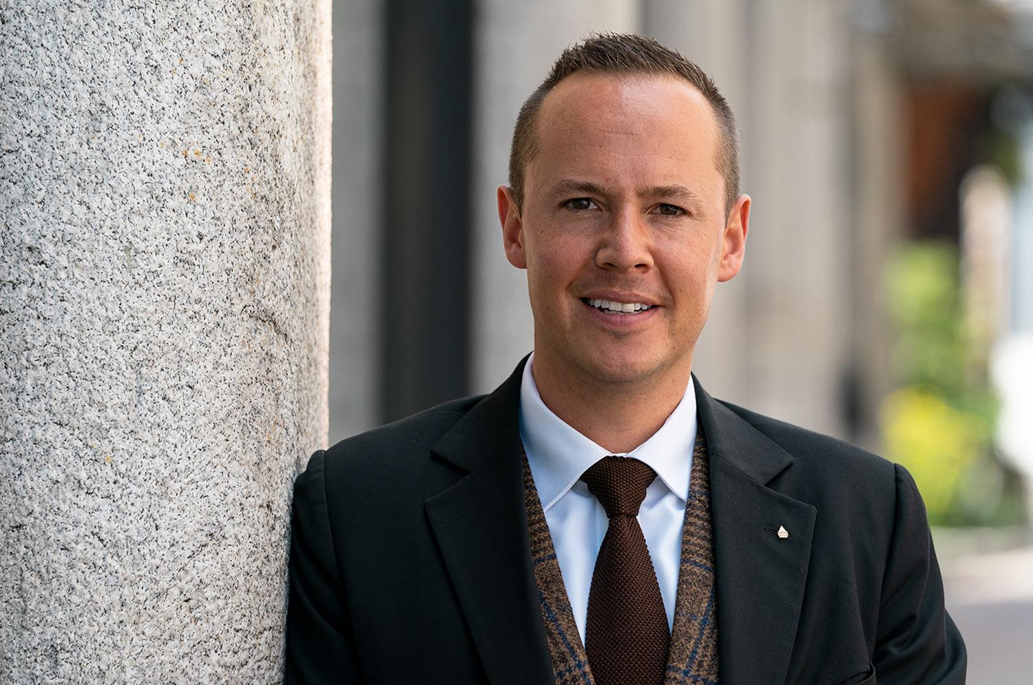 Danilo Huss, Director of Sales, Badrutt's Palace Hotel