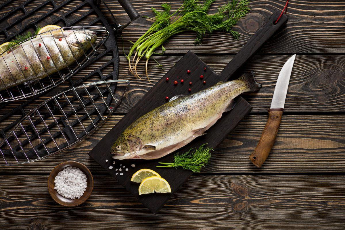 Preparing and cooking fish