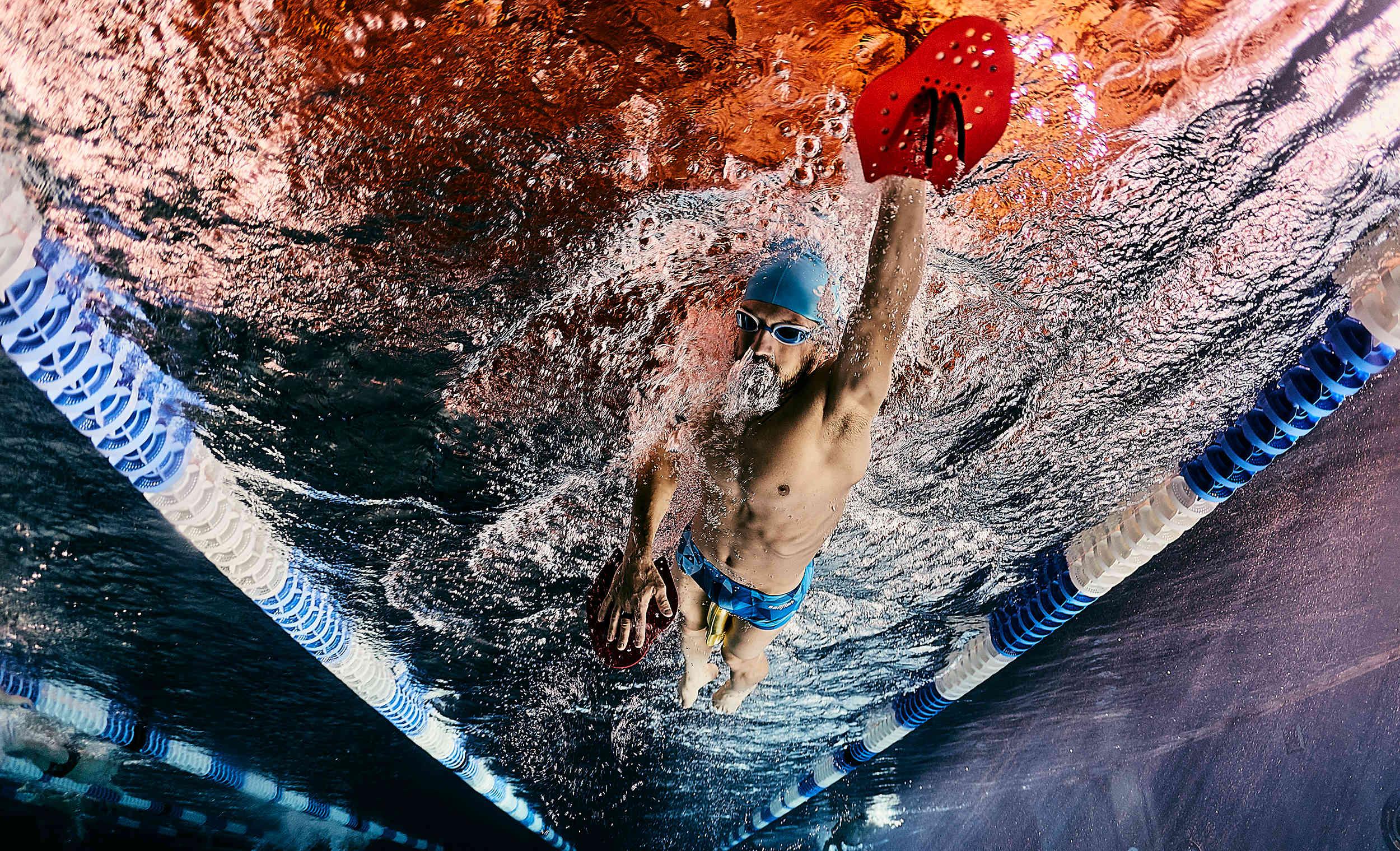 Triathlon Swimmer Patrick Lange