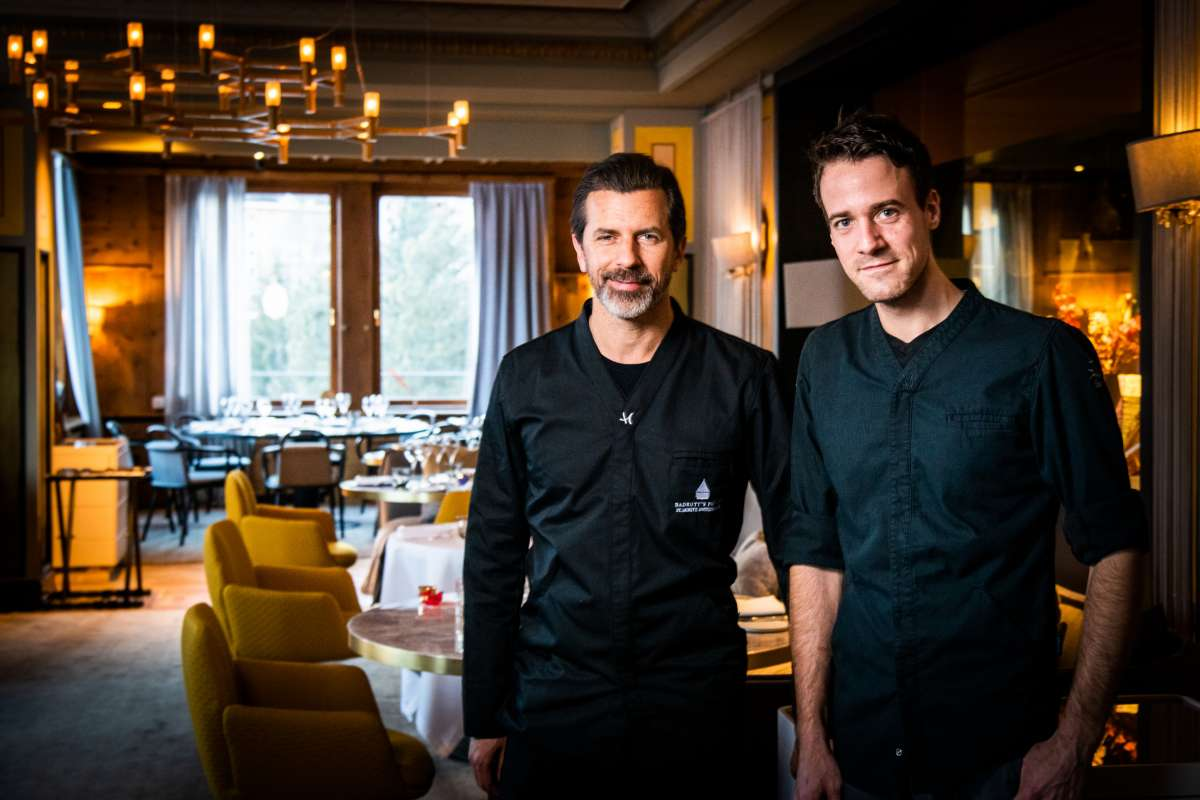 Chefs at the Badrutt's Palace Hotel