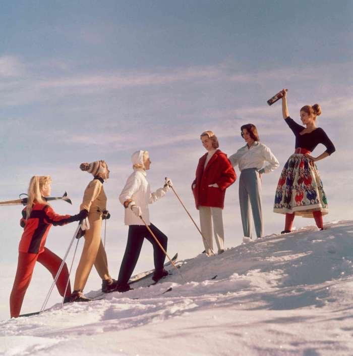 Winterstil in St. Moritz