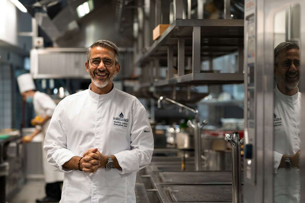 Maxime Luvara, Executive Chef at Badrutt's Palace Hotel