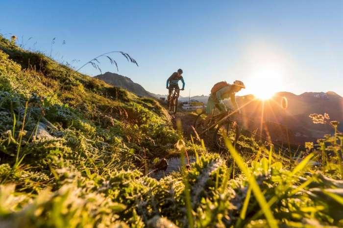 Radfahren in St. Moritz