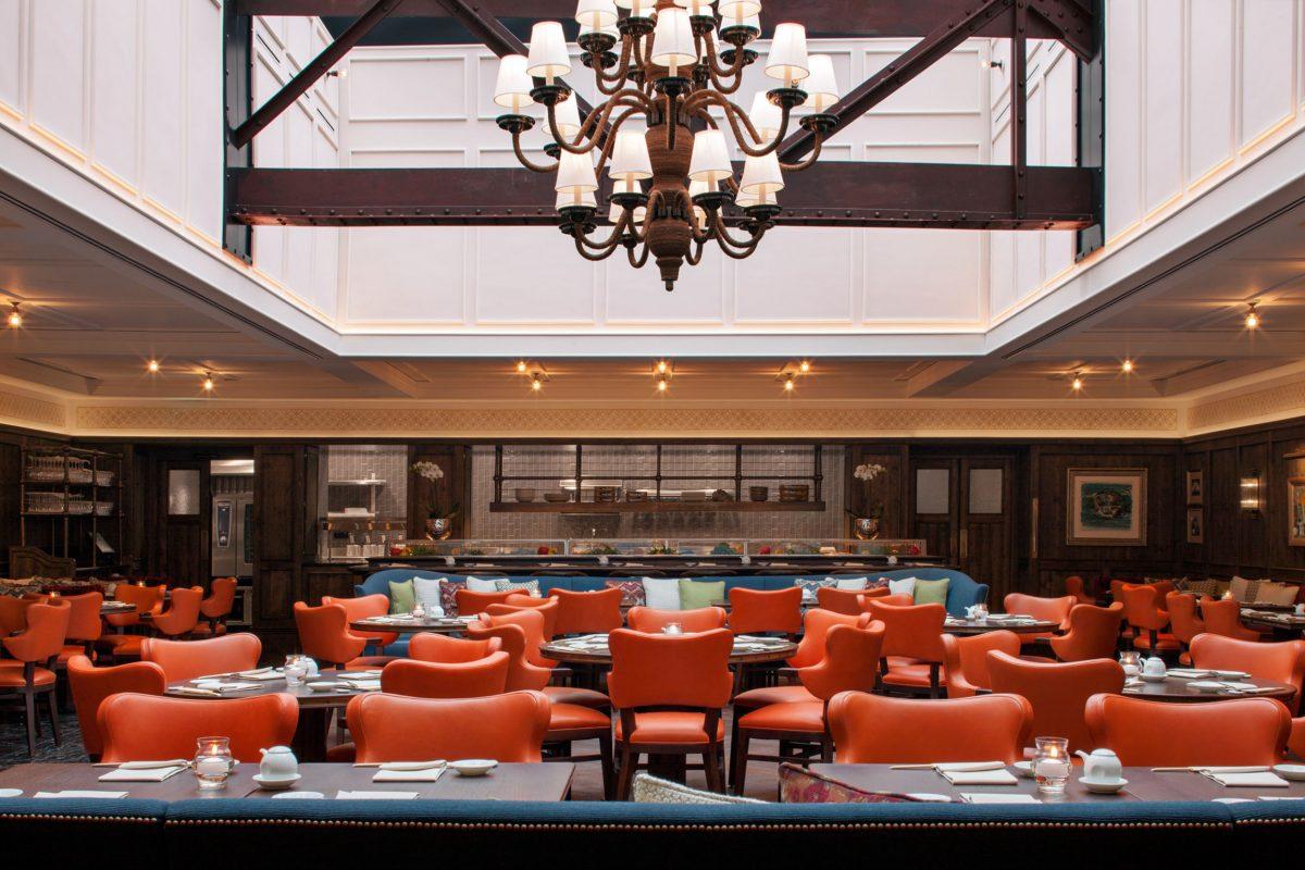 La Coupole - Matsuhisa restaurant at Badrutt's Palace Hotel