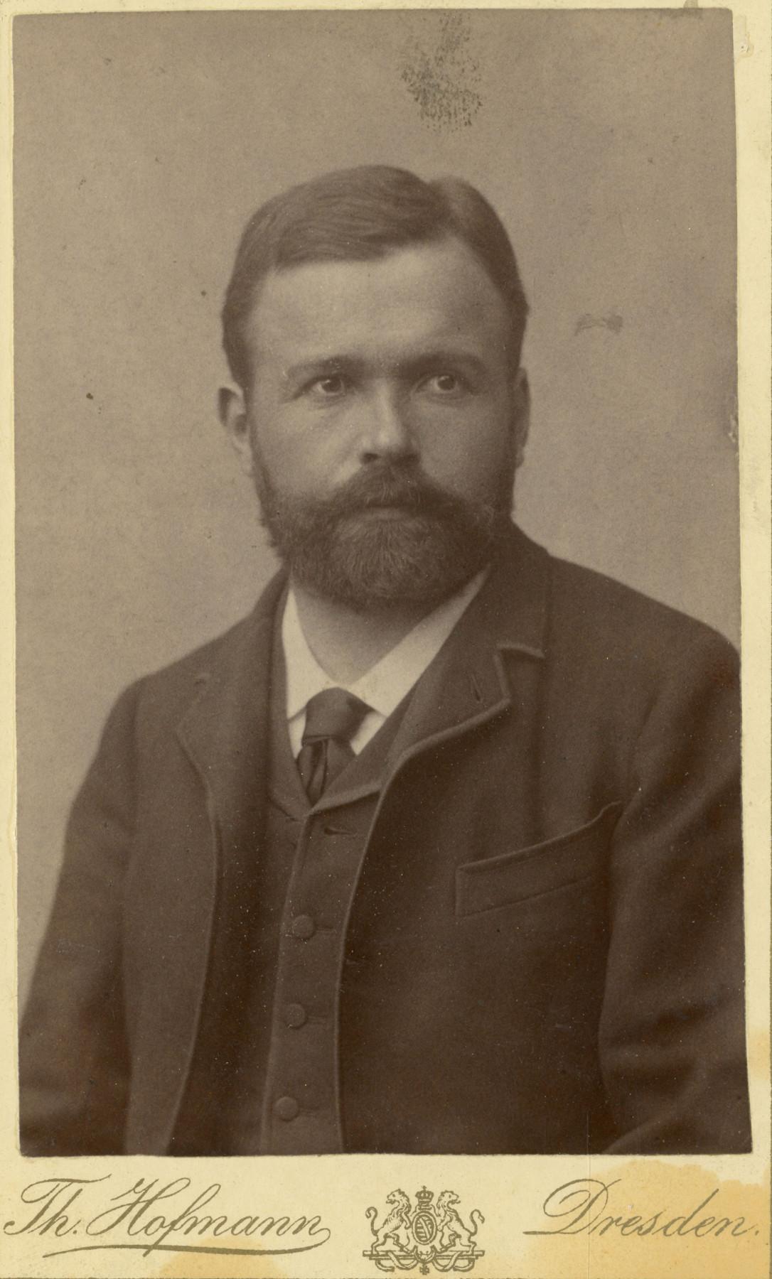 Historic photo of Caspar Badrutt