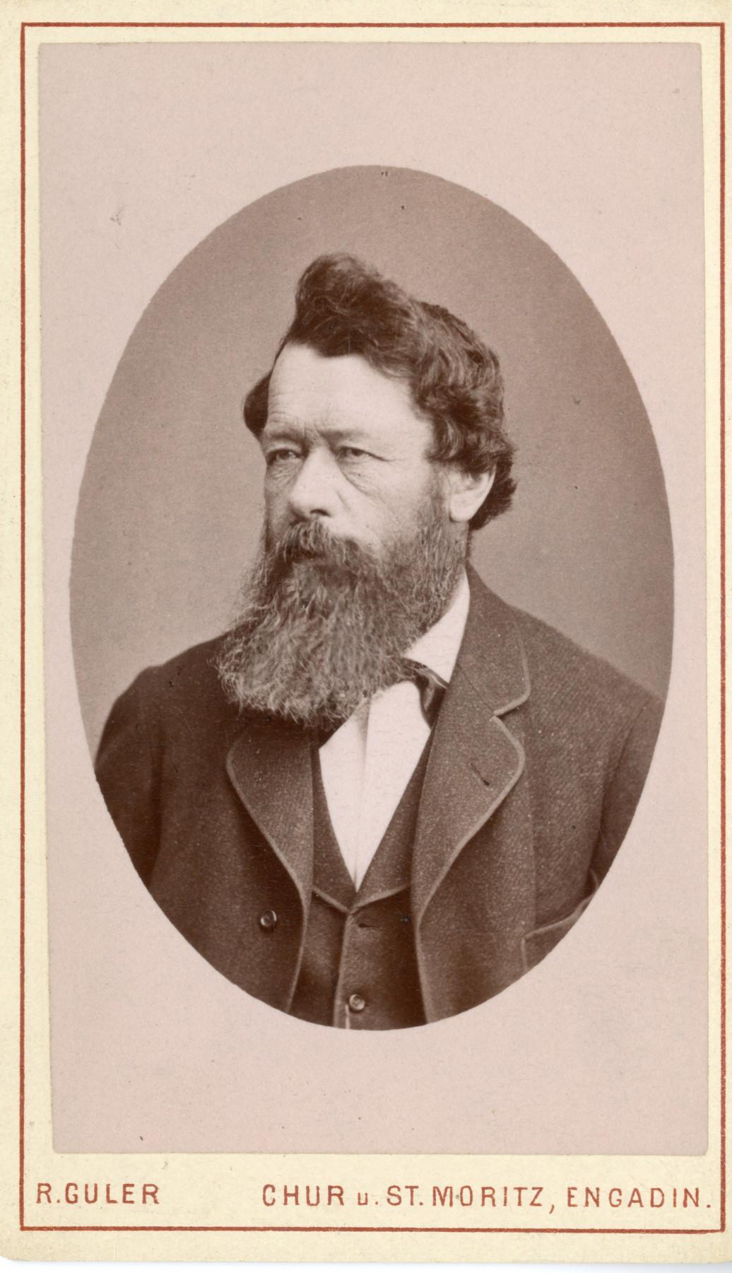 Historic photo of Johannes Badrutt Jr.