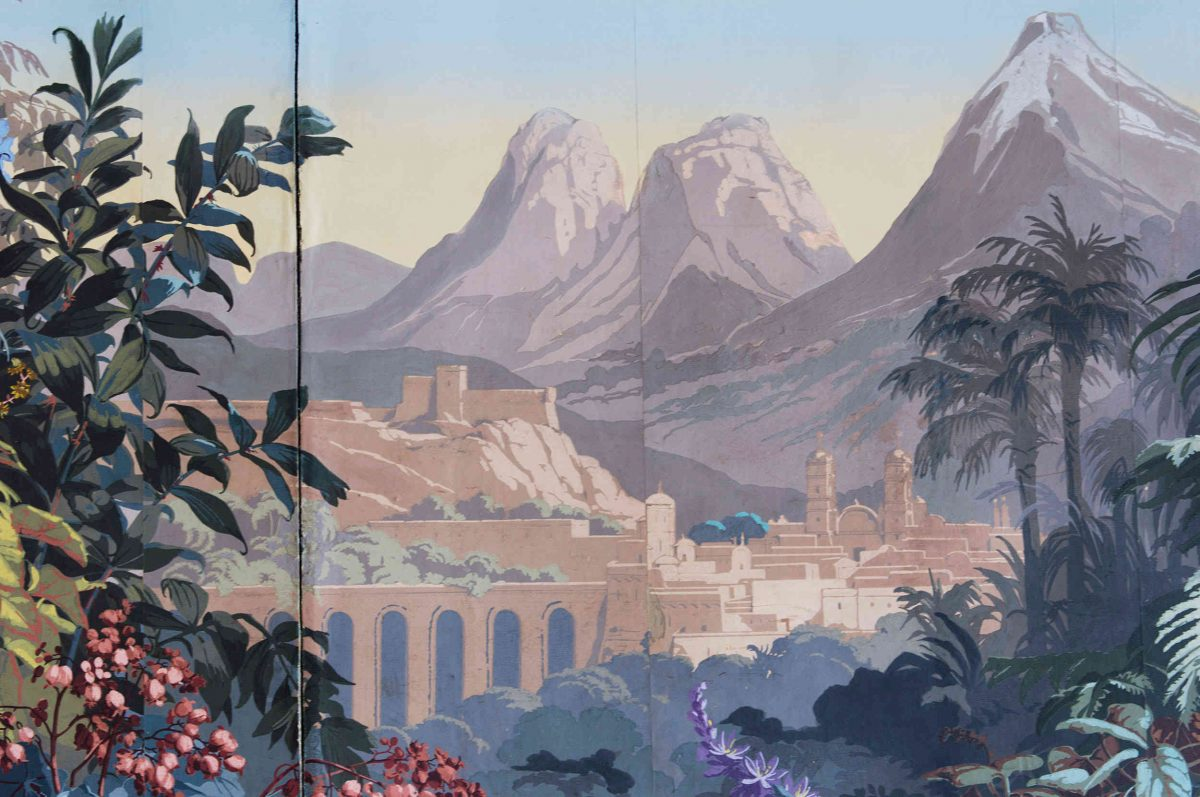 El Dorado scene on wallpaper